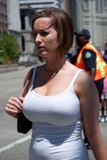 Big Tits On The Street 116